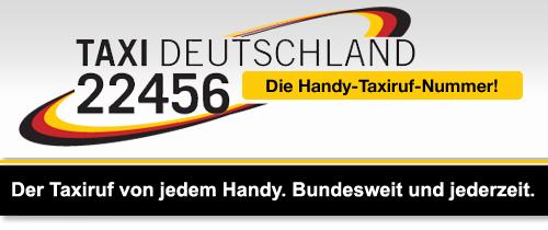 Der Taxiruf von jedem Handy. Bundesweit und jederzeit.